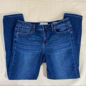 Calvin Klein Ankle Skinny Blue Jeans Denim Size 10